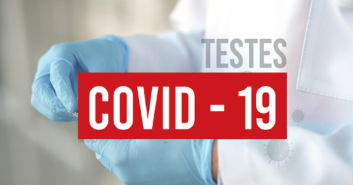 Fazemos testes serológicos para a Covid-19